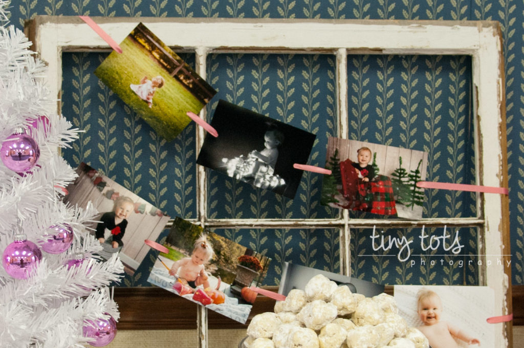 Displaying photos for birthday party