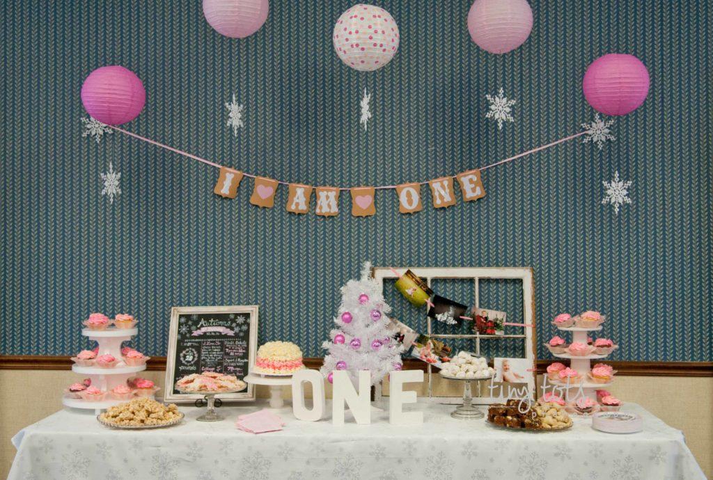 1st birthday theme   Winter Onederland