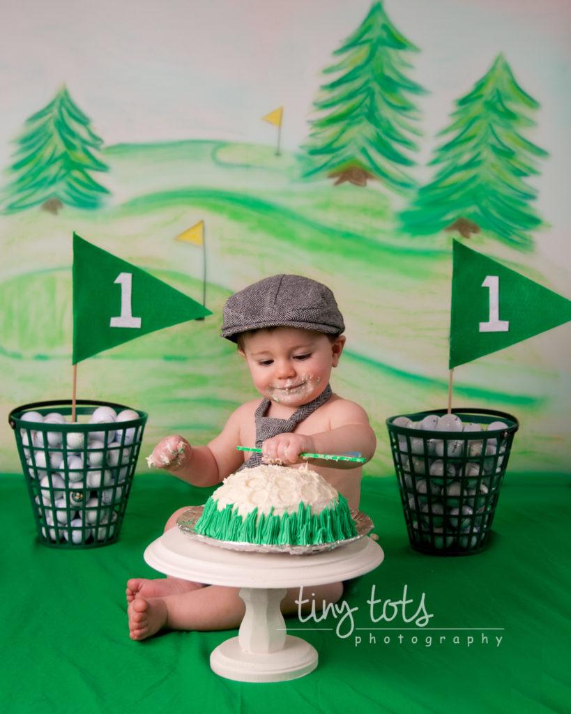Golf Cake Smash