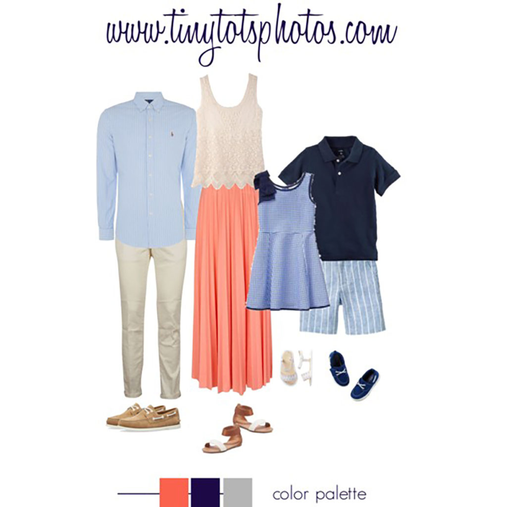Outfit ideas for Summer Family Pictures
