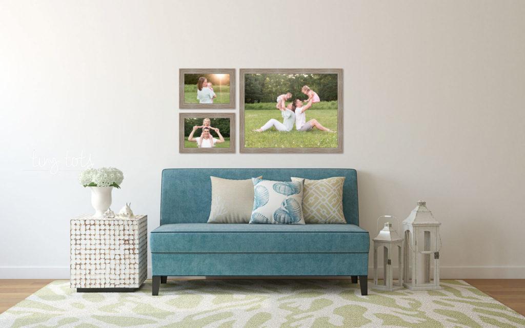 photography wall groupings
