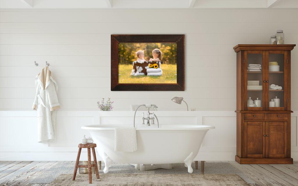 outdoor bath tub session