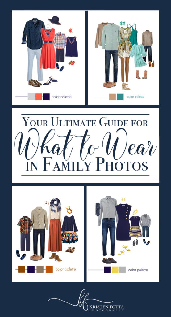 examples of outfit for famiily pictures