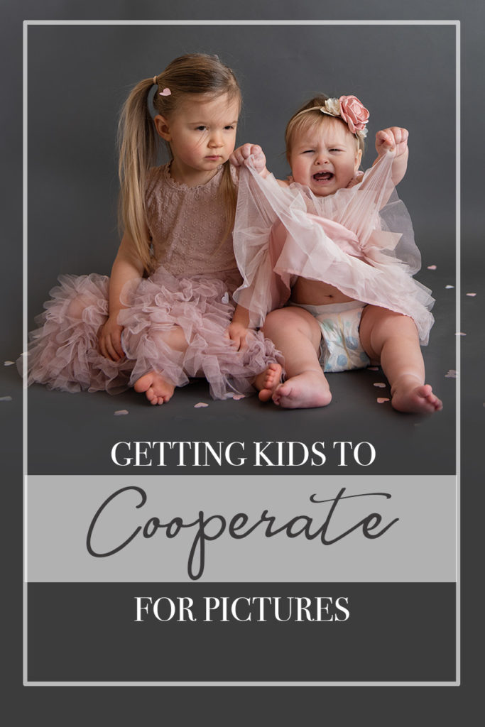 how to get children to cooperate for pictures