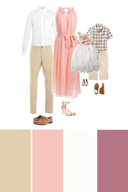 Color schemes for family photos