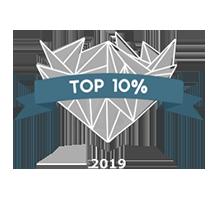 award top 10 percent