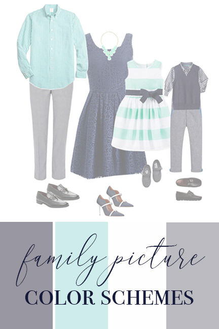 Best Colors for Family Pictures Outside