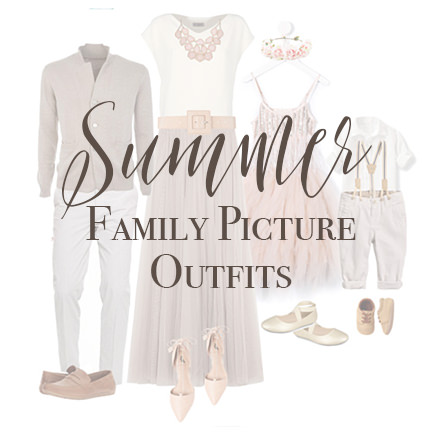 What to Wear for Summer Family Pictures