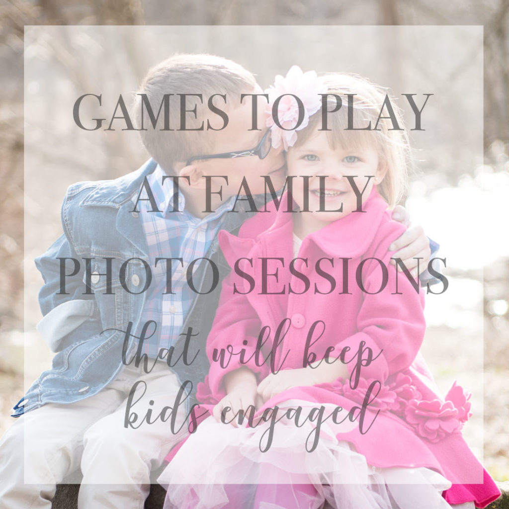 Games to play at family photo sessions