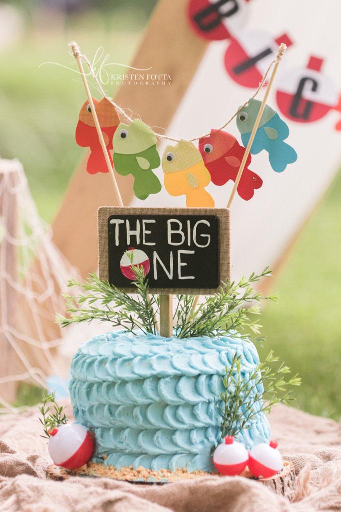 the big one themed smash cake