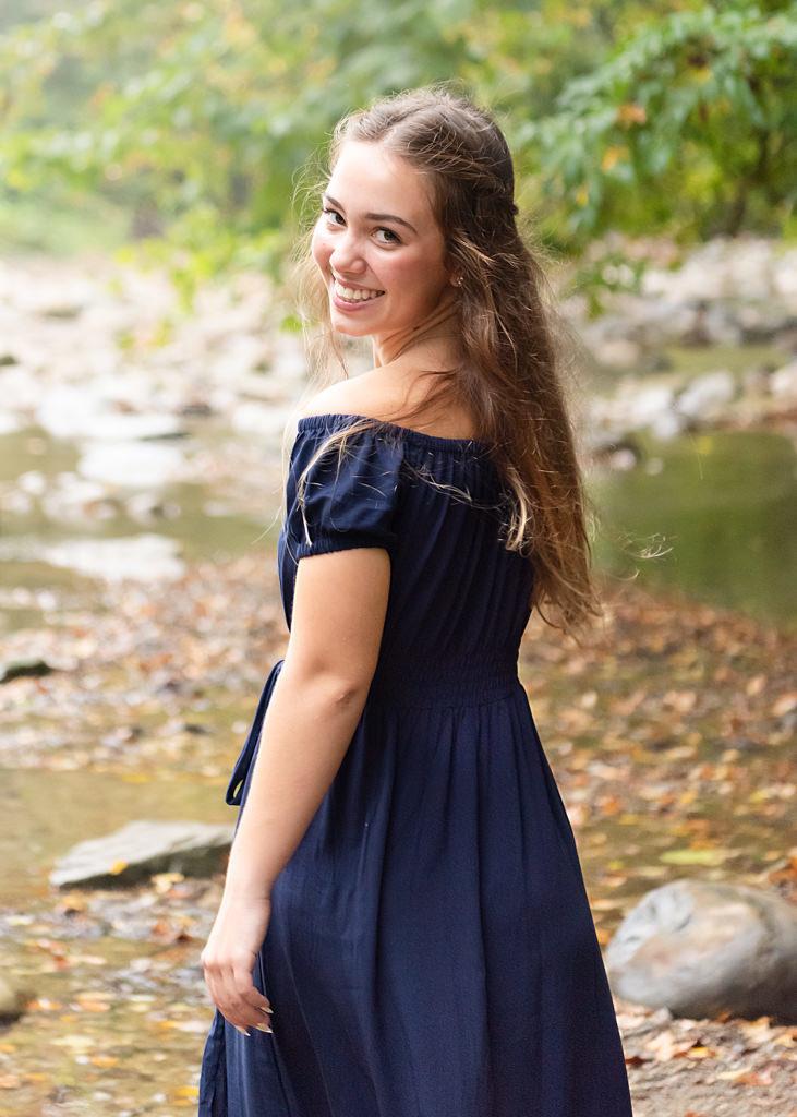 Fall senior portraits for CVCA high school senior
