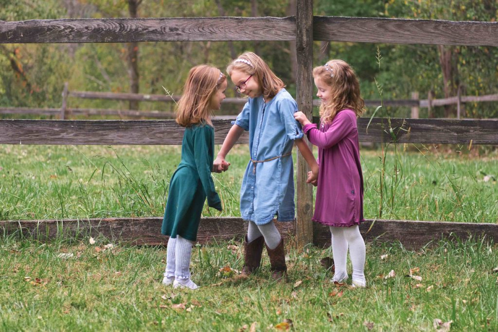 Jewel Toned Family Outfits