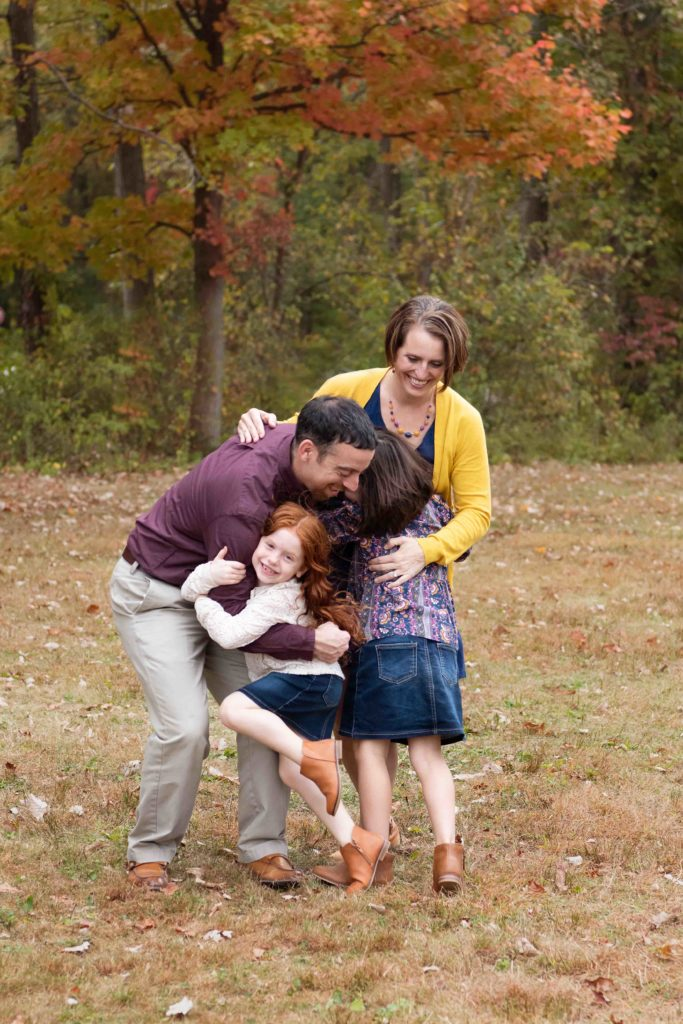 mustard navy and burgundy fall family outfits